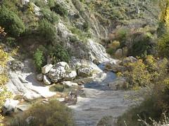 rock pools in abella (squeezemonkey) Tags: catalunya abelladelaconca rockpools landscape water stream boulders
