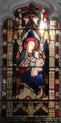 St Mary's Church, Perivale: stained glass window (John Steedman) Tags: london uk unitedkingdom england   greatbritain grandebretagne grossbritannien       stmarys church perivale stmaryschurch stainedglasswindow stainedglass window