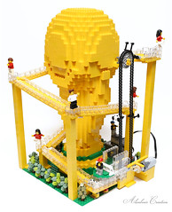 LEGO World Cup Trophy - Great Ball Contraption (alanboar) Tags: gbc lego moc worldcup trophy great ball contraption football