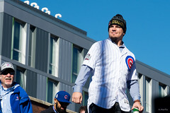 Schwarber! (Andy Marfia) Tags: chicago lakeview chicagocubs cubs kyleschwarber baseball parade addisonst d7100 1685mm 11250sec f56 iso100