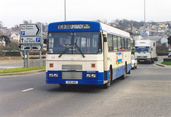 Fifteen years old and going strong. (steve vallance coach and bus) Tags: fxi419 leylandtiger alexanderbelfast derry londonderry ulsterbus