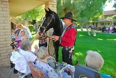 20161108 The Singing Cowboy (Gary Sprague) and Dusty (lasertrimman) Tags: gary sprague garysprague the singing cowboy dusty thesingingcowboyanddusty wooddale village wooddalevillage ruthgilmartin ruth gilmartin 20161108