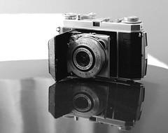 Kodak Retina Ia (rolandmks7) Tags: sonynex5n kodak retina retinaia ektar reflection camera