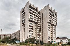 (ilConte) Tags: magnitogorsk russia russian architettura architecture architektur soviet modernism socialist socialism block