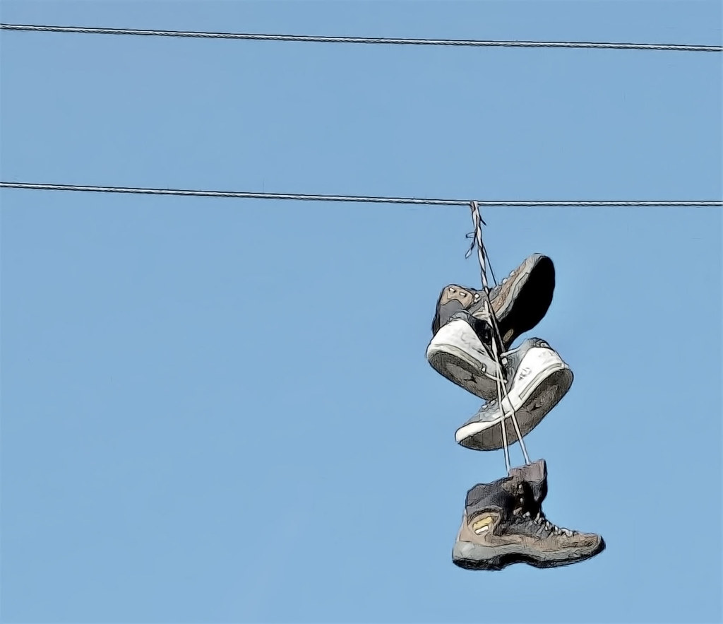 The World\'s Best Photos of hanging and shoes - Flickr Hive Mind