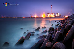 The Power Of Dreams (Wicaksono TI) Tags: explore explored excellent texture interesting indonesia sea ocean powerplant longexposure exposure nature landscape amazing indramayu ginichiphotography photography photo photos bestphotography bestphotos best flickrbest autofocus canon dslr cool natgeolive natgeo
