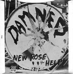 The Damned - New Rose / Help (1976) (stillunusual) Tags: damned thedamned newrose help stiff stiffrecords punk punkrock newwave single vinyl sleeve artwork picturesleeve bside 1970s 1976