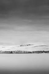 valhalla (pinkmonty) Tags: icelan longexposure longexpo sea mountain shore monochrome blackandwhite leefilter