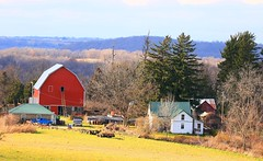 red barn in Winneshiek County IA 854A2683 (lreis_naturalist) Tags: red barn driftless area landscape winneshiek county iowa larry reis