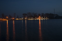 New bridge landscape (qbolewicz) Tags: żnin małe jezioro lake landscape bridge nikon d5000
