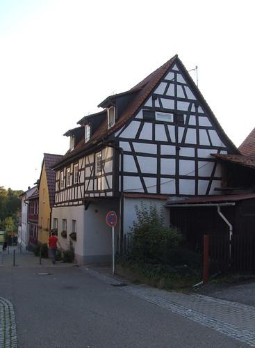 Buildings along Pfluggasse, 27.09.2011.