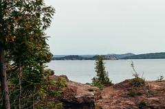 Coastal Forest (J&E Adventures) Tags: landscape uppermichigan marquette nature exploring up michigancoast 35mm film michigan trees canona1 coastline puremichigan ishootfilm filmphotography upperpeninsula lakesuperior canon