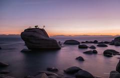 Bonsai Rock (Raymond van der Zalm) Tags: bonsai rock salmon creations water sky nd filter lake reflection sunset america south tahoe