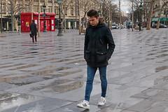Place de la République - Paris (France) (Meteorry) Tags: europe france idf îledefrance paris parispeople candid street rue streetscene république placedelarépublique homme man male guy young twink teen avenuedelarépublique trottoir parvis city urban jeans sneakers trainers baskets skets adidas adidassuperstar angry colère penser thinking march 2016 meteorry
