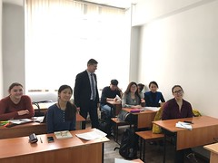 "professor Stojanovic delivered the lectures on KazNU on 2. and 3. December 2016 <a style=""margin-left:10px; font-size:0.8em;"" href=""https://www.flickr.com/photos/89847229@N08/31294013642/"" target=""_blank"">@flickr</a>"