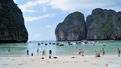 "Maya Bay ""The Beach"" - Thailand (Ld\/) Tags: thebeach beach sea andaman phiphi pee phi thailande thailand maya bay paradise isle ile le island dream flickr explore flickrexploreme tourisme touriste holiday vacation vacance novembre 2016 dicaprio leonardo"