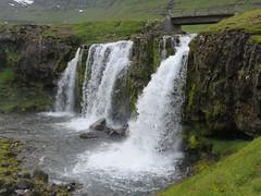Iceland waterfalls , Kirkjufellfoss (moonjazz) Tags: waterfall iceland travel nature green water foss photography landscape island western kirkjufell kirkjufellfoss iconic