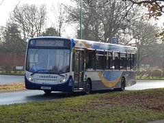 Stagecoach South 27661 (GX10 KZO) Chichester 5/12/16 (jmupton2000) Tags: gx10kzo coastliner 700 alexander dennis enviro 300 stagecoach south uk bus southdown coastline sussex