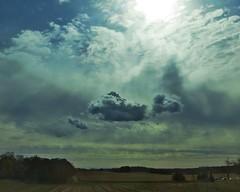 evening pastoral (Jo Borlan) Tags: landscape moonglow clouds luminous fields farmland cloudscape moonlight evening