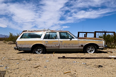 1977 Pontiac Grand Safari (Curtis Gregory Perry) Tags: auto california sky abandoned car station clouds wagon photography photo nikon highway automobile desert grand mobil 66 safari route motor pontiac 1978 1977 78 77 essex automvil xe d300 automobil     samochd  kotse  otomobil   hi   bifrei  automobili   gluaisten