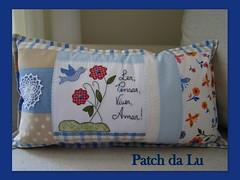 Almofada personalizada (Patch da Lu) Tags: almofadapersonalizada almofadadepatchwork