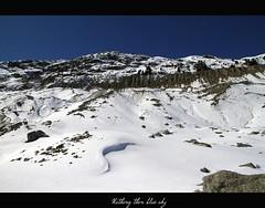Nothing then blue sky (begumidast) Tags: blue schnee winter snow alps color ice nature canon eos schweiz switzerland frozen suisse outdoor natur glacier berge 7d alpen svizzera gletscher eis efs engadin morteratsch wow1 eflens landschaftsaufnahmen eos7d canoneos7d graubünden begumidast efs1585mmf3556isusm efs1585mm mygearandme blinkagain musictomyeyeslevel1