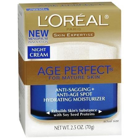 L'Oreal欧莱雅Age Perfect金致臻颜系列抗皱抗衰老保湿晚霜$10.3,母亲节的好礼物