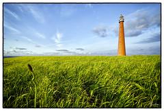 De dijk en de Lange Jaap (PortSite) Tags: lighthouse holland netherlands waddenzee nikon den nederland noordzee northsea gras nautical dijk helder paysbas vuurtoren 2012 denhelder navire huisduinen portsite d3s