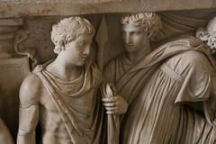 Medea's Myth - Detail V (Egisto Sani) Tags: jason berlin museum greek sarcophagus mito medea myth berlino altes sarcofago giasone medeia creusa glauce greekmyths mitigreci creonte