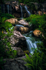 the wetland park waterfall (dawvon) Tags: world china longexposure travel hk nature landscape hongkong 50mm prime nikon rocks asia stones f14 14 snapshot gear equipment snaps waterfalls rivers streams nikkor standard   newterritories lenses    tinshuiwai photographyequipment  standardlens wetlandpark primelens   14g fmount 50mmf14g  photographygear fixedfocal fixedfocallens afsnikkor50mmf14g afsf14g actionphorography