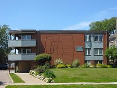 Blaisdell Modern (altfelix11) Tags: brick minnesota architecture tile apartments modernism minneapolis modernistarchitecture modernarchitecture midcenturymodern midcenturymodernarchitecture blaisdellavenue