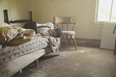 (juan montano.) Tags: boy abandoned illinois bed juan
