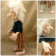 melkree3 (CornishDragon) Tags: ooak troll clothdoll cornishdragon