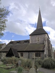 All Saints Church, Banstead (abbietabbie) Tags: old church surrey restored photostream allsaints williammorris anglosaxon banstead gestreet doomsdaybook