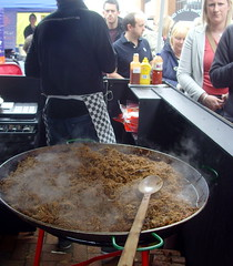 A big pan and spoon (Tony Worrall Foto) Tags: show people food make fun happy northwest candid year sunday crowd north may 4th spoon lancashire blackburn made event eat buy pan cooked chilli visitors venue 19th foodie lancs returned foodshow 2013 nigelhaworthsfantasticfoodshow 2013tonyworrall