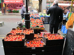 CR - ZERO series (Richard Dargan) Tags: uk red market tomatoes croydon halal managed5570 butchesrshop