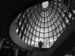Liverpool Central Library roof dome (Towner Images) Tags: library liverpool roof dome towner townerimages city architecture building architectural cultural art construction merseysidecivicsociety copyright bw mono merseyside monochrome greyscale monochromatic