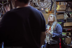 Elizabeth (Caitlin Magarity Photography) Tags: blue moon philadelphia beer shop work bikes bicycles crew production filming bluemoon bilenky dbg bilenkycycleworks