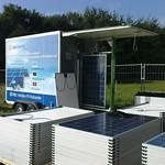 Mobiles PV-Testcenter im Einsatz