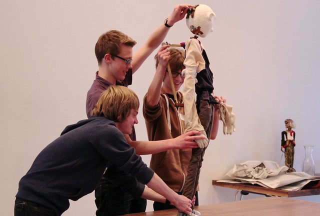 LiveWire Creative Careers Week - Theatre Puppet Making 3