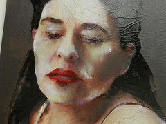 Lita Cabellut (JosDay) Tags: detail exhibition pulchri flickraward ithinkthisisart ithinkthisisartaward nikoncoolpixp500 nikonflickraward litacabellut