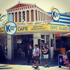 Kebab King #cafe The Entrance #beach... (here_downunder) Tags: uploaded:by=flickstagram instagram:photo=36207142409860225513033554 cafe beach summer holiday centralcoast australia theentrance sydney