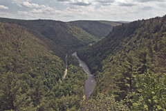 Pine Creek Gorge (Amber Redfield) Tags: park wood history nature pine creek forest canon river point landscape landscapes woods harrison state pennsylvania grand canyon erosion rivers colton gorge geology leonard forests susquehanna tioga canoneos7d canon7d amberredfield