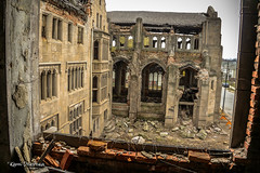 Abandoned City Methodist Church, Gary, IN (Kamil Dziedzina Photos) Tags: citymethodistchurch abandonedchurch gary gothicchurch lifeafterpeople urbanexploration humanvsnature weathered apocalyptic ruins zombies transformers3 transformers4 derelict indiana canon urbex explore