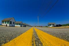 (mariberlin) Tags: street usa yellow america provincetown capecod stripes stripe newengland eastcoast 2013 canon5dmarkiii