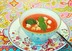 ...and there's no summer without gazpacho! (Zara Miravent) Tags: summer food espoo finland gazpacho