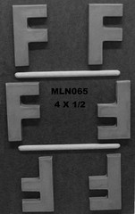 MLN065 (Chocolate Concepts) Tags: chocolate letters number numbers f letter mold