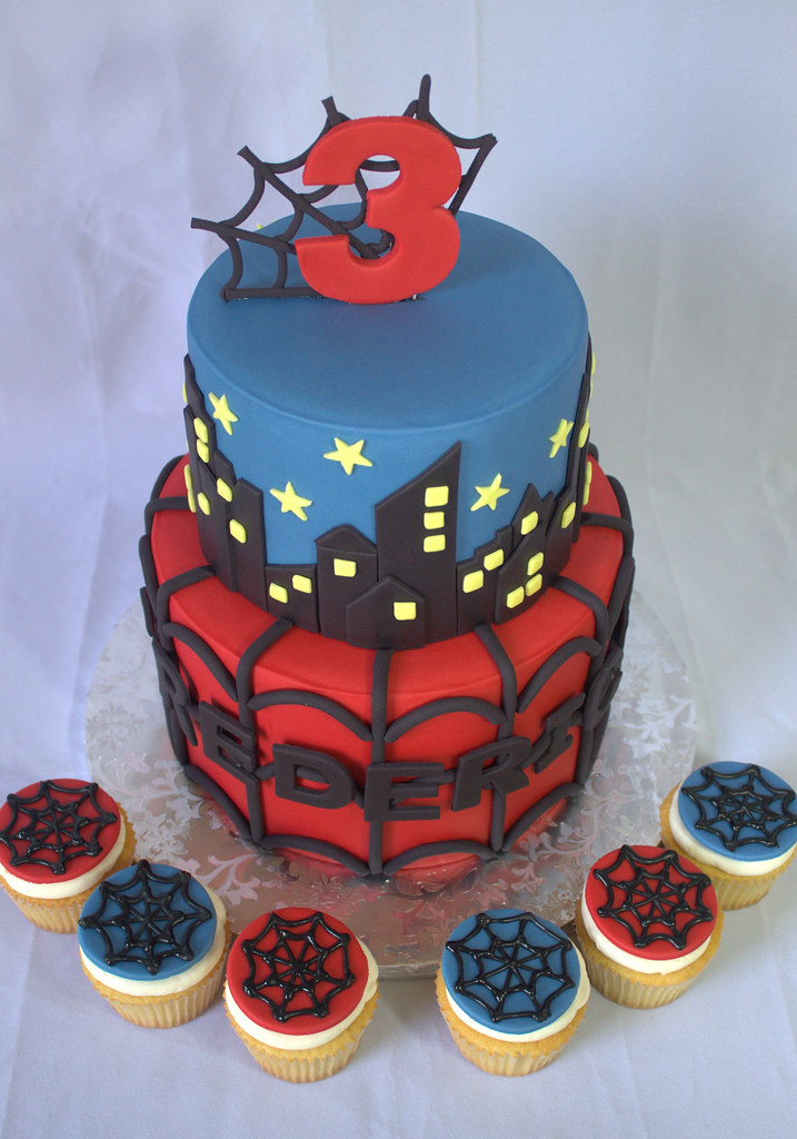 The Worlds Best Photos of fondant and spiderman Flickr Hive Mind