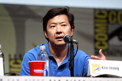 Ken Jeong (Gage Skidmore) Tags: california brown dan nicole community san comic ken diego jim center international convention danny jacobs gillian yvette brie alison con rash harmon mckenna chri jeong pudi 2013