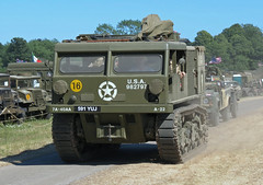 M4 US Army Artillery Tractor (Beer Dave) Tags: tractor army us military vehicle artillery m4 tracked armoured warandpeacerevivalshow